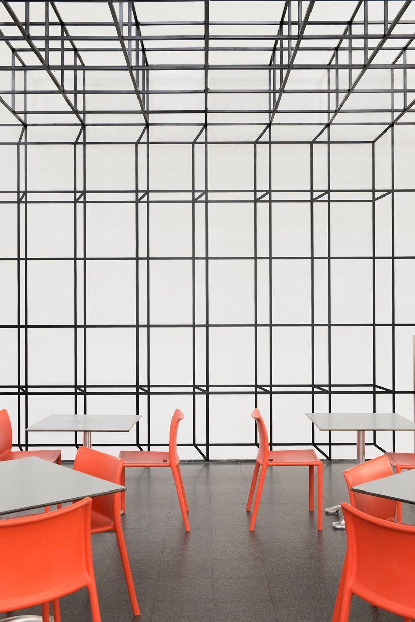 chicago architecture biennial johnston marklee grid is a grid is a grid is a grid MCA chicago designboom