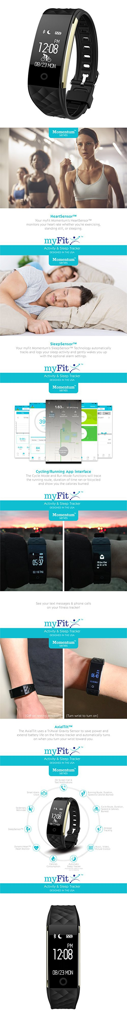 [New] myFit Momentum 2 Run & Cycle Series Fitness Activity