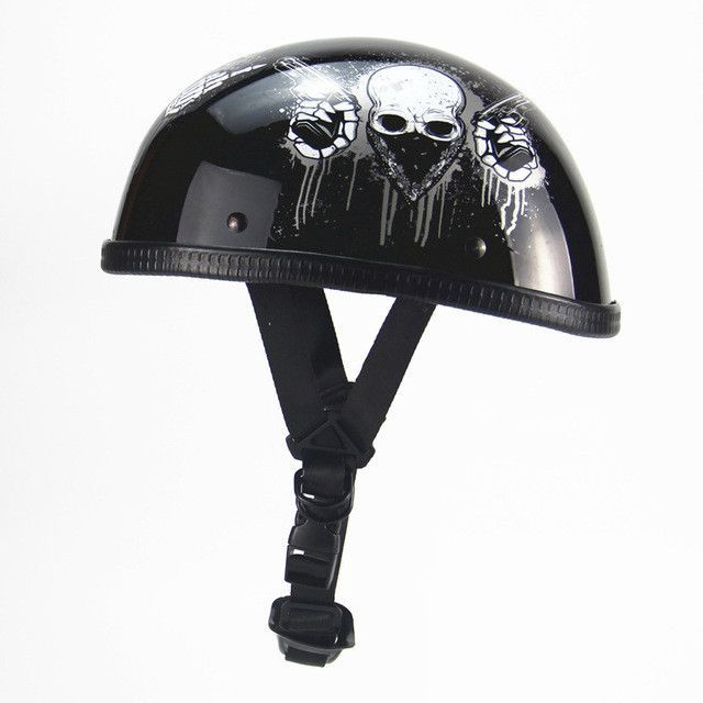 BEON Motorcycle Helmet Vintage Chopper Half Open Face Helmet Moto Casco Men Women Scooter Retro Motorbike Helmet