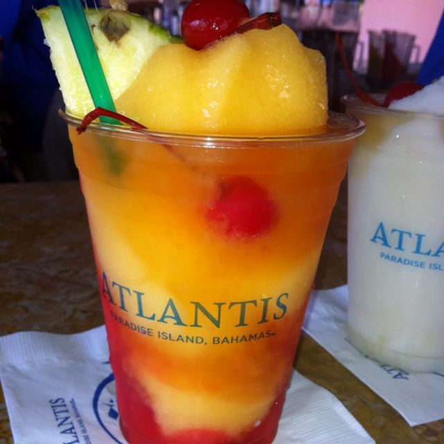 Best Rum Drink! Ever! Directly From Atlantis Resort In The