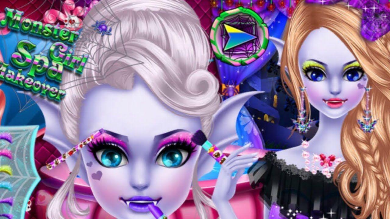 Monster Girl Spa Makeover