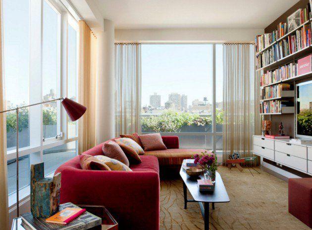 Furniture Design Living Room Glamorous 17 Stylish Living Room Designs With Red Couches  Living Rooms Inspiration