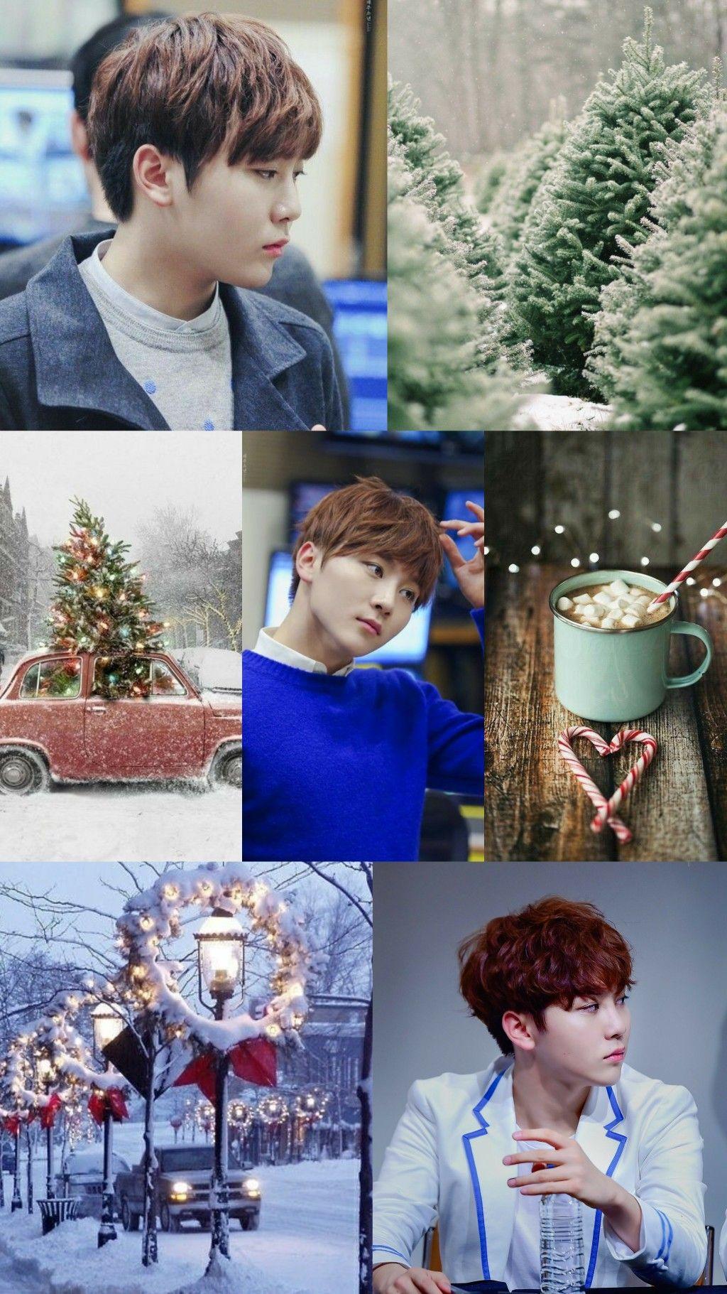 Booseungkwan Wallpaper Seventeen Winter Blue Kpop