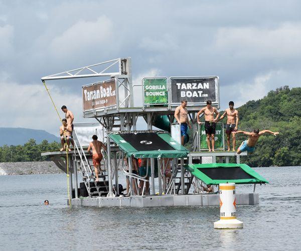 Tarzan Boat House Boat Boat Party Barge