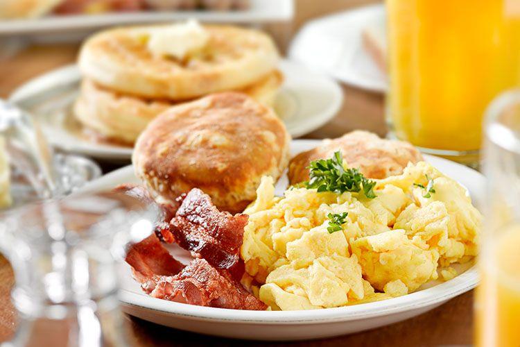 Atlanta Vacation, Breakfast