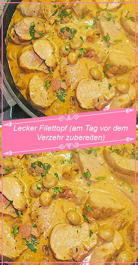 Photo of INGREDIENTS: 1 kg pork fillet (s) 100 g cat ham, in …