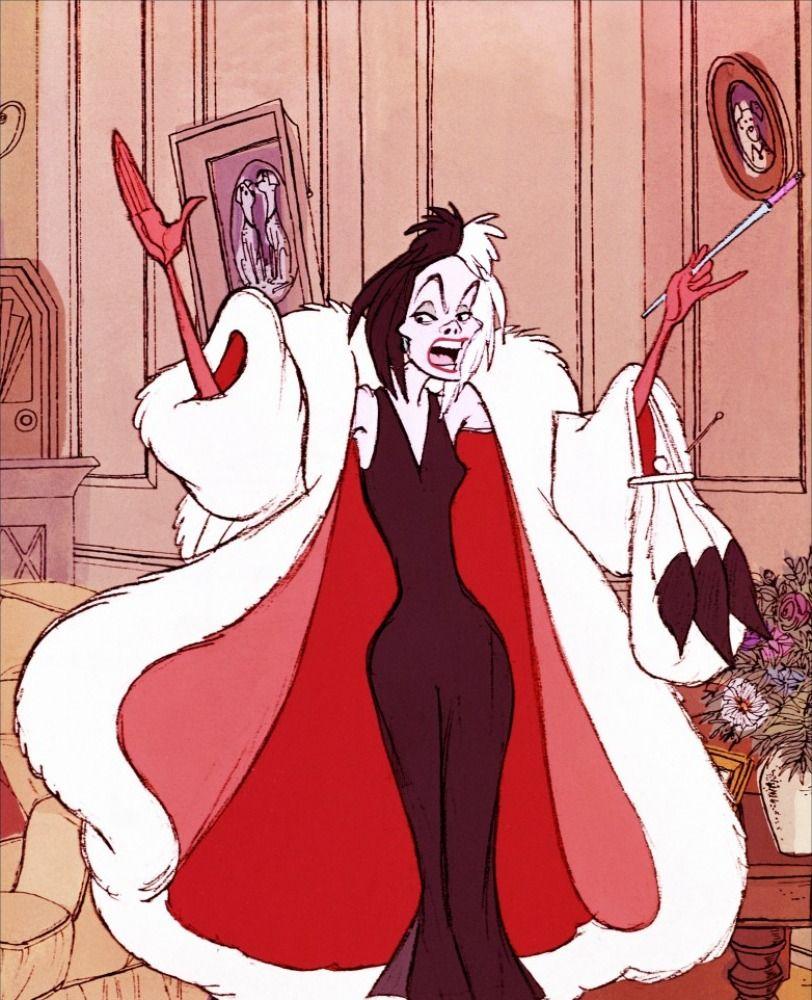 les 101 dalmatiens : Cruella | plaisir | Pinterest | Dessin animé ...