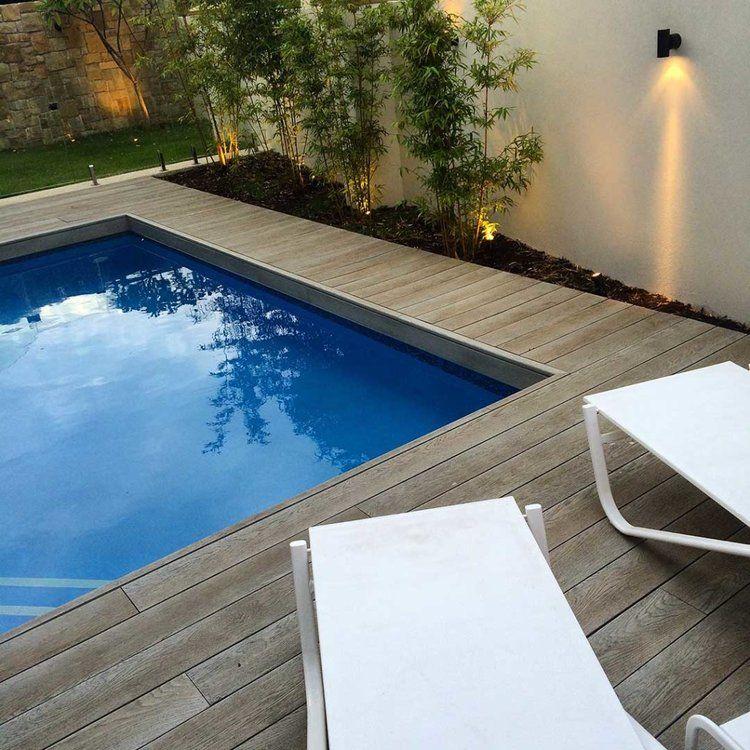 Millboard Composite Decking Perth Wa Austim Composite Decking Swimming Pools Backyard Pool Landscaping