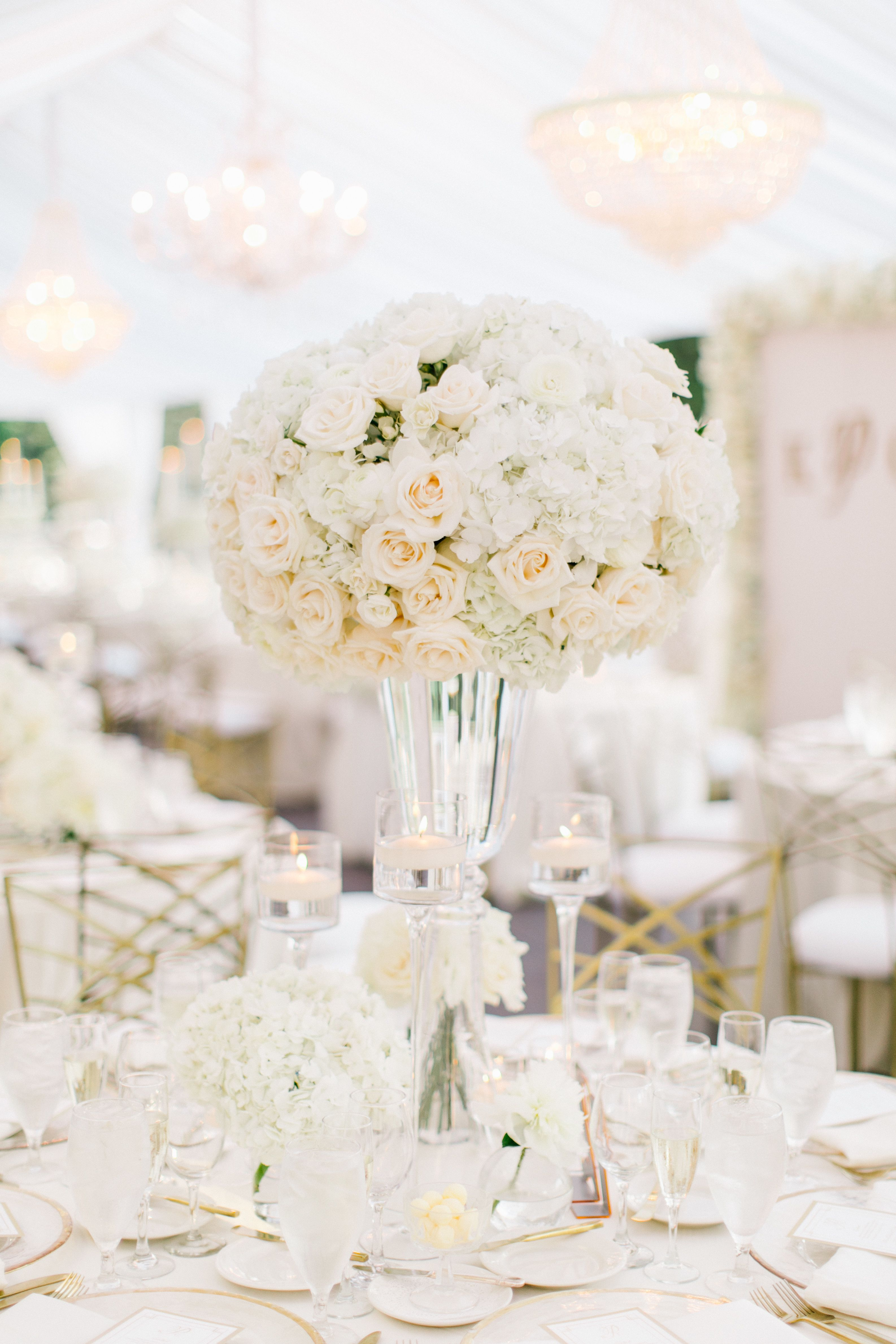 ultra glam all white california wedding wedding tables table rh pinterest com