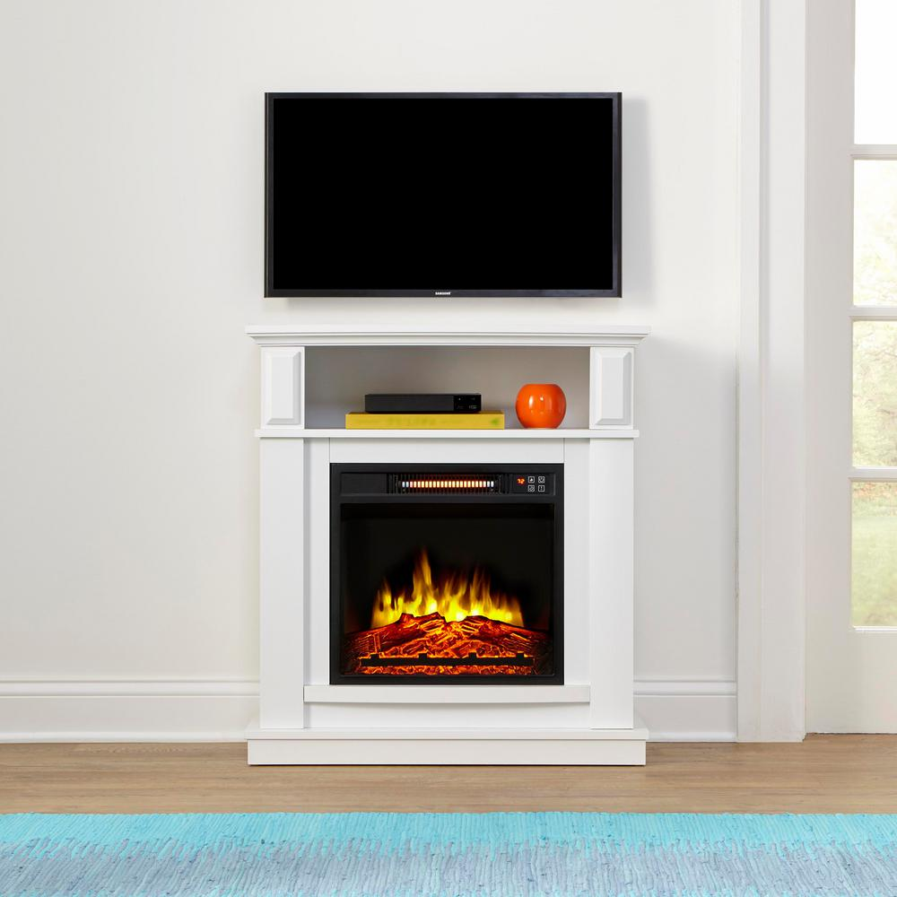 Stylewell Albury 31 In Freestanding Compact Infrared Electric