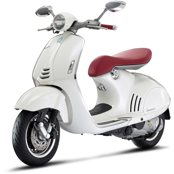 A New Classic, The Vespa 946 ❤ liked on Polyvore featuring motorcycle, transport and vespa