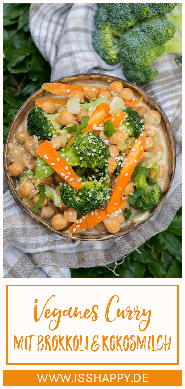 Veganes Brokkoli Curry Cremig Lecker Gesund Rezept In 2020 Gesunde Vegane Rezepte Gesunde Rezepte Rezepte
