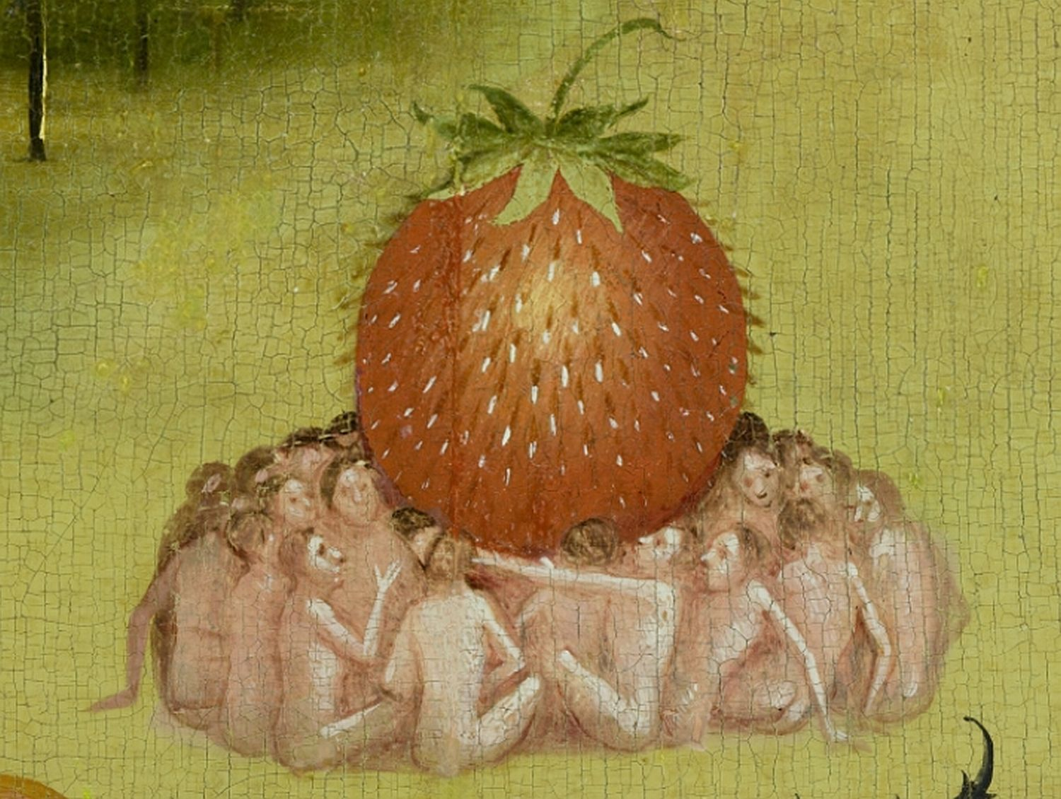 Image result for garden of earthly delights close up