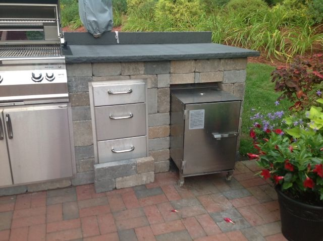 Smokintex Electric Smoker Outdoor Kitchen Outdoor Kitchen Design Kitchen Design Plans Outdoor Kitchen
