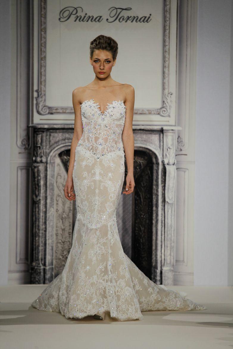 Pnina Tornai@Kleinfeld NY | ashleys wedding | Pinterest