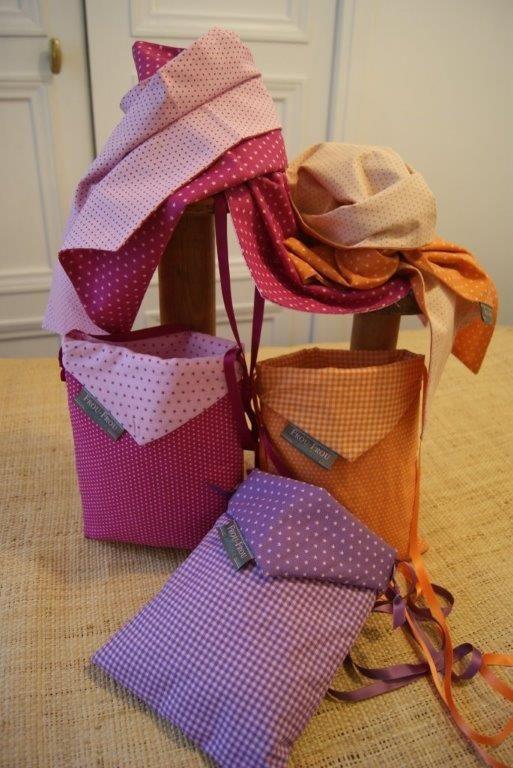 Fiche couture t l charger charpe et le sac frou frou for Couture mercerie