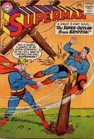 Superman 134 January 1960 en 2020 Film d'animation