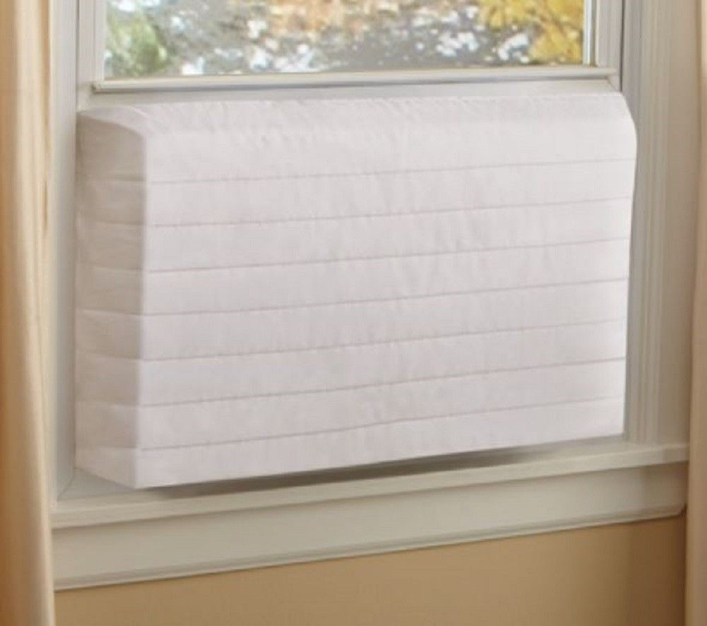 Window Air Conditioner Cover Quilted Indoor Ac Protector Heat Loss Cold Air Stop Unb Window Air Conditioner Air Conditioner Cover Indoor Air Conditioner Cover