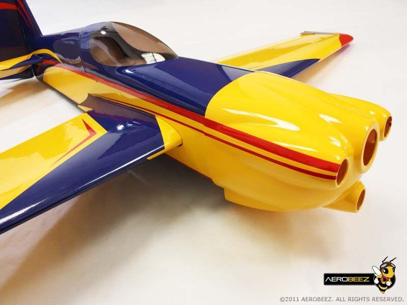 "75"" 26 Scale MXSR 30cc Matt Hall RC Plane"