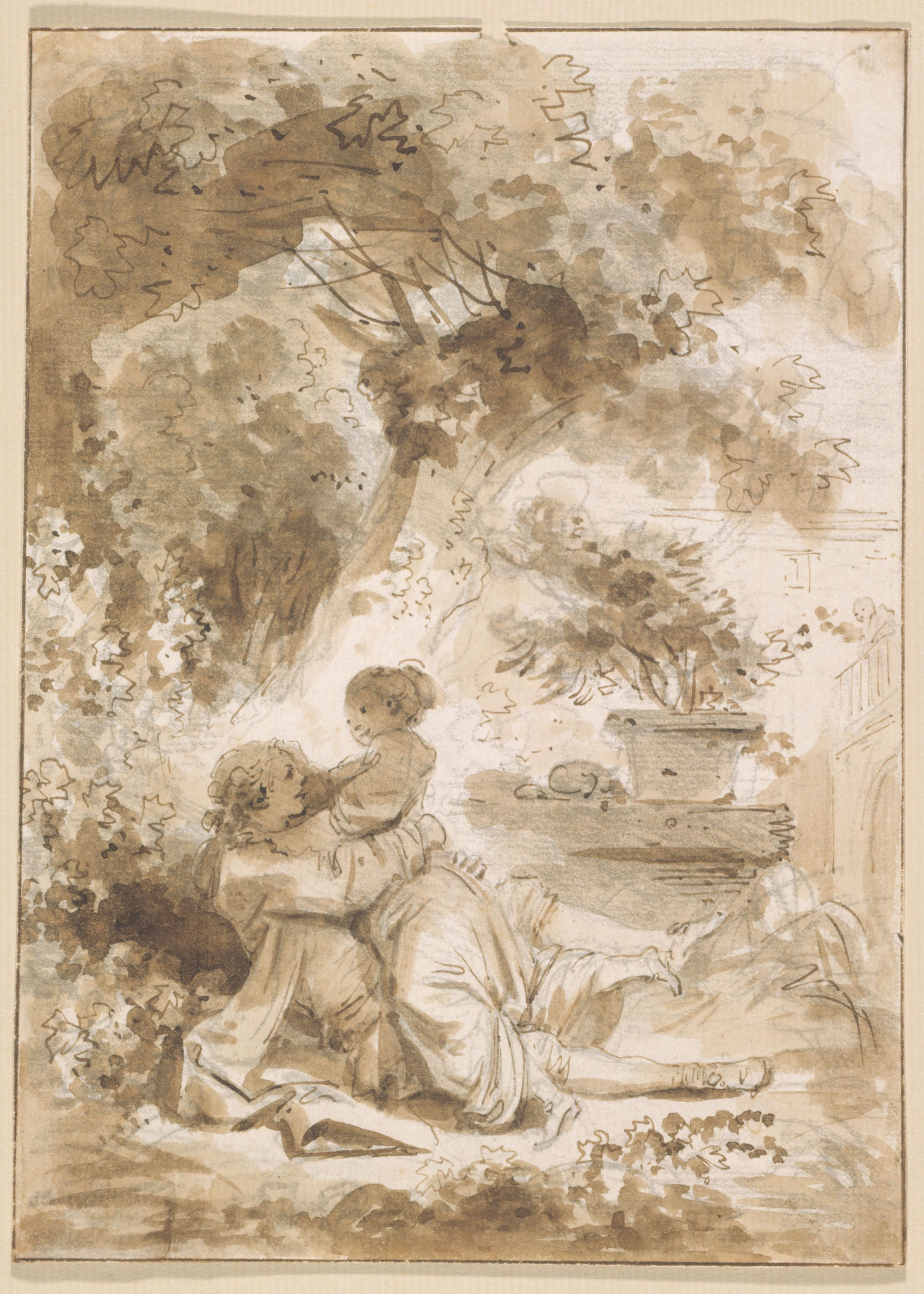 Œuvres commentées de Fragonard : La servante justifiée   Musee du Luxembourg Œuvres commentées de Fragonard : La servante justifiée