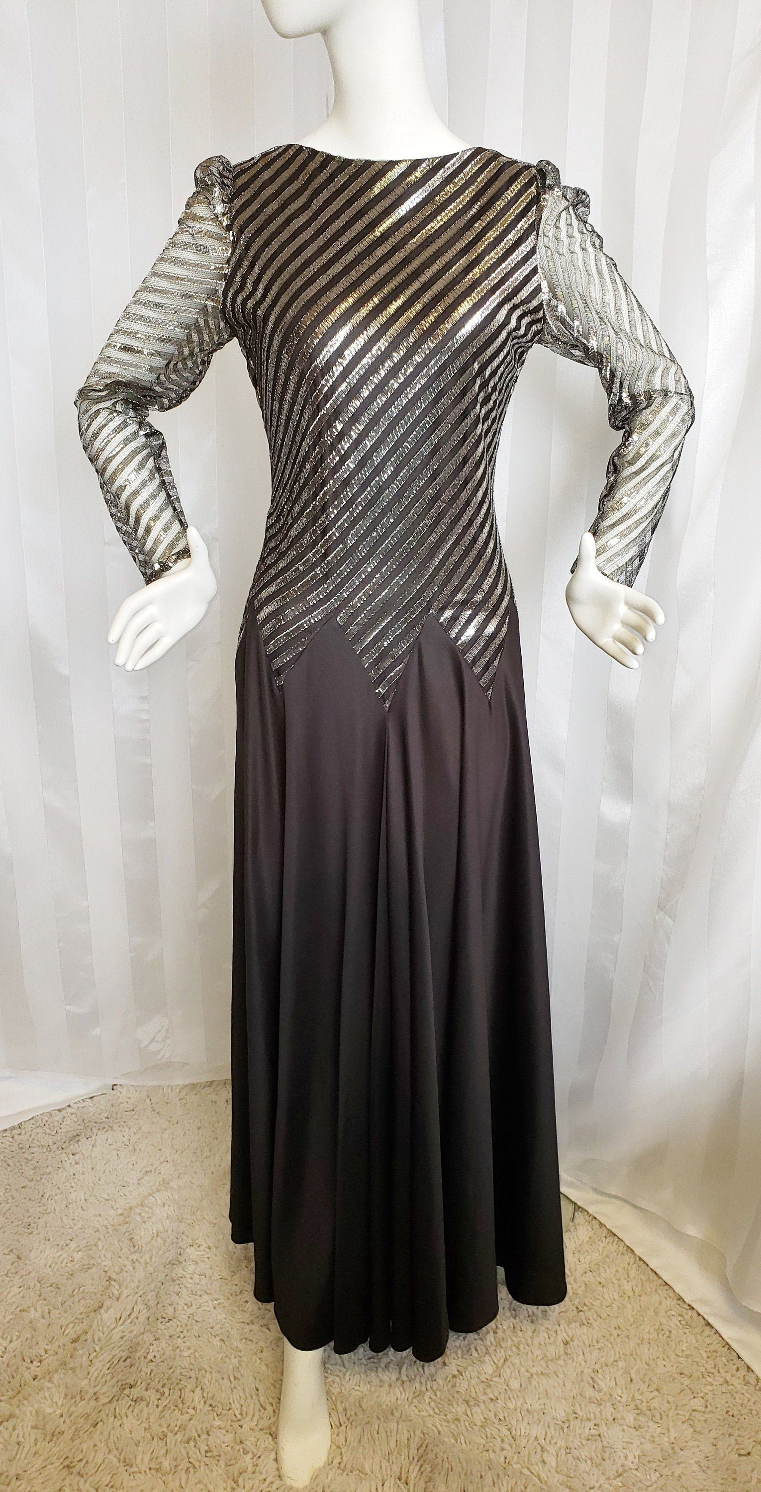 Ginger Rogers-Style Glamour Gown #GlamourGirl #BallroomDress