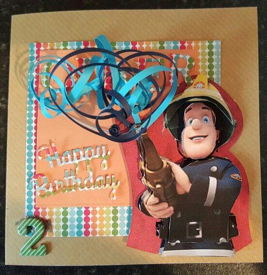 For My Grandson Who Loves Fireman Sam Fireman Sam Cards Fireman