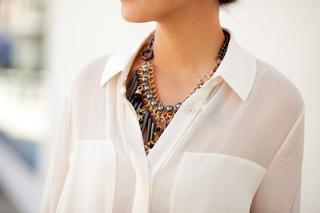 Hidden Gems, ASOS necklace by Wendy´s lookbook