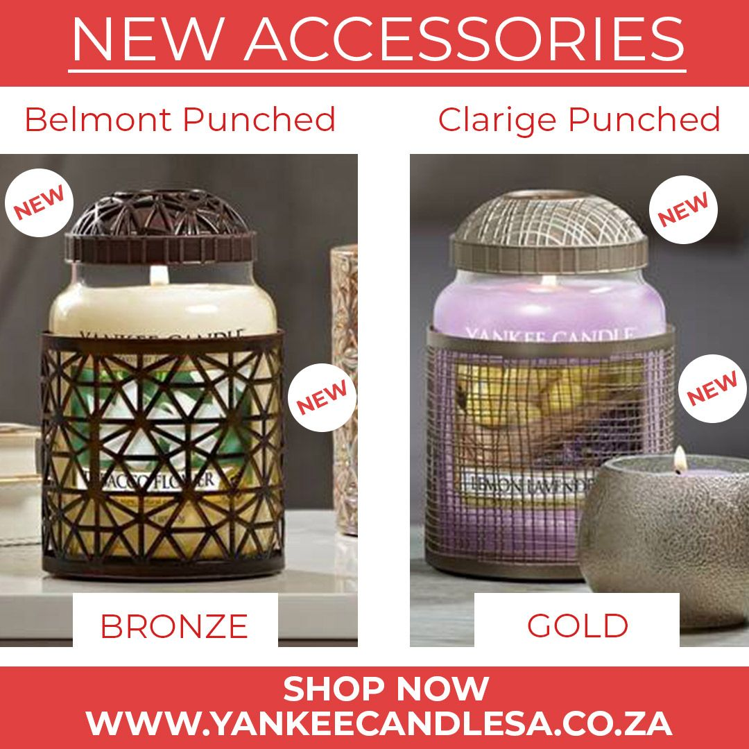 New Accessories Yankee Candle Jar Candles