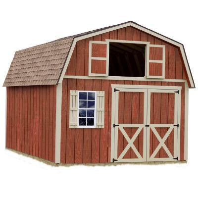 Garden Sheds 20 X 12 millcreek 12 ft. x 20 ft. wood storage shed kit, clear | wood