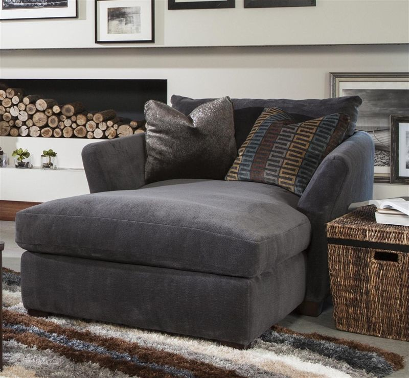 "Carlsen Living Room Set Dusk By Jackson Furniture: Brighton Chaise In ""Graphite"", ""Foam"", Or ""Cobblestone"
