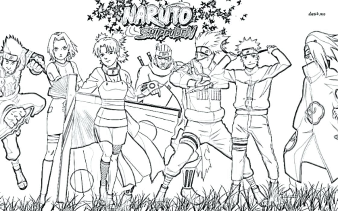 Naruto Shippuden Coloring Pages Coloring Pages Naruto Shippuden Coloring Pages