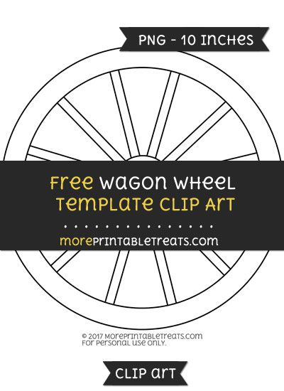 Free wagon wheel template clipart clipart files pinterest free wagon wheel template clipart ccuart Choice Image