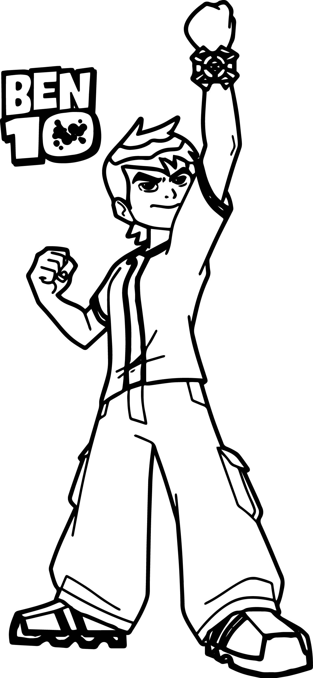 Awesome Ben Ten Ben 10 Win Coloring Page Coloring Pages Color Coloring Pages For Boys