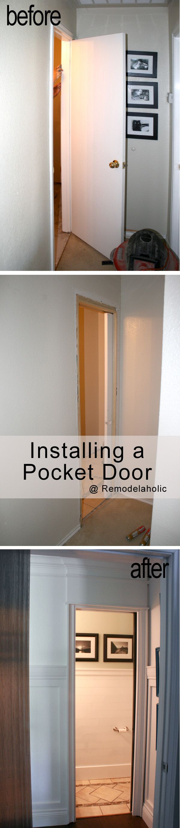 install a pocket door how to