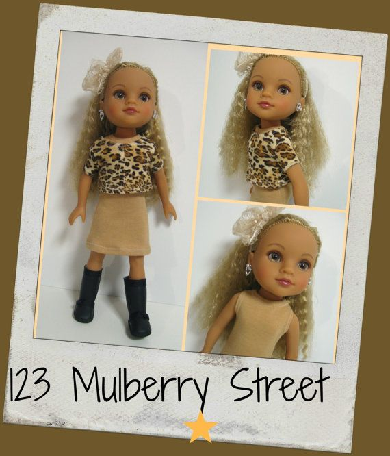 Hearts for Hearts Doll   Wild side by 123MULBERRYSTREET on Etsy
