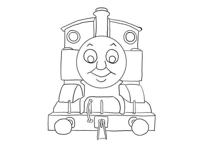 Thomas The Tank Engine Coloring Pages - http://fullcoloring.com/thomas-the-tank-engine-coloring-pages.html