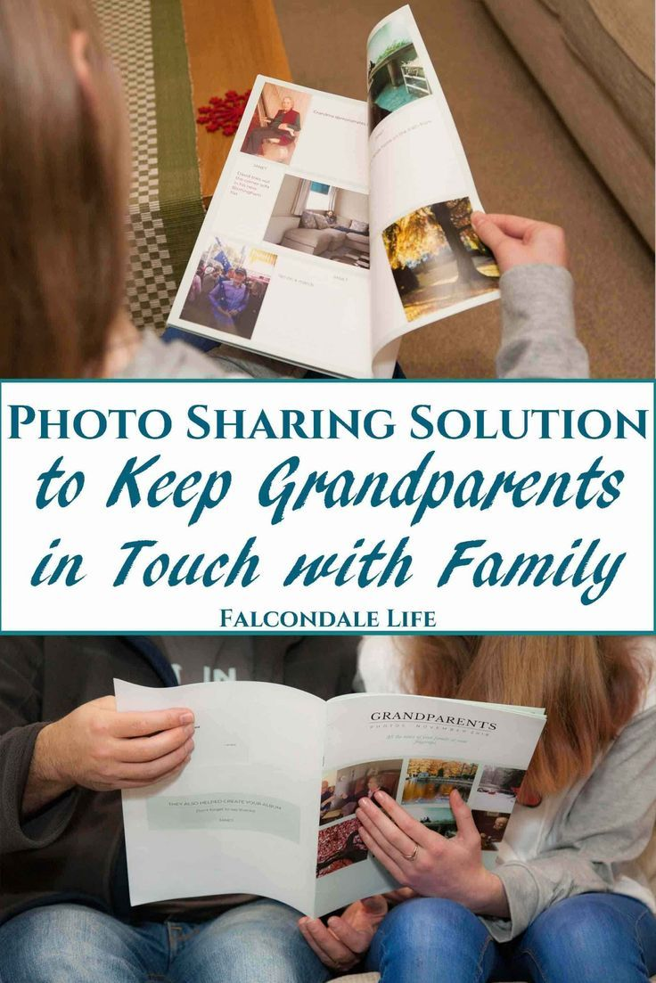 The Photo Sharing Solution to Keep Grandparents in Touch