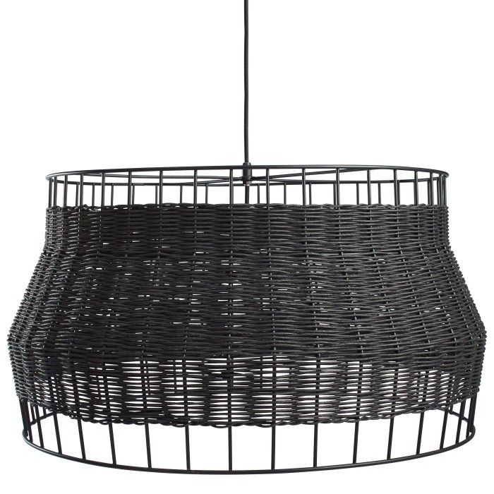 Laika large pendant light rattan pendant light blu dot 599