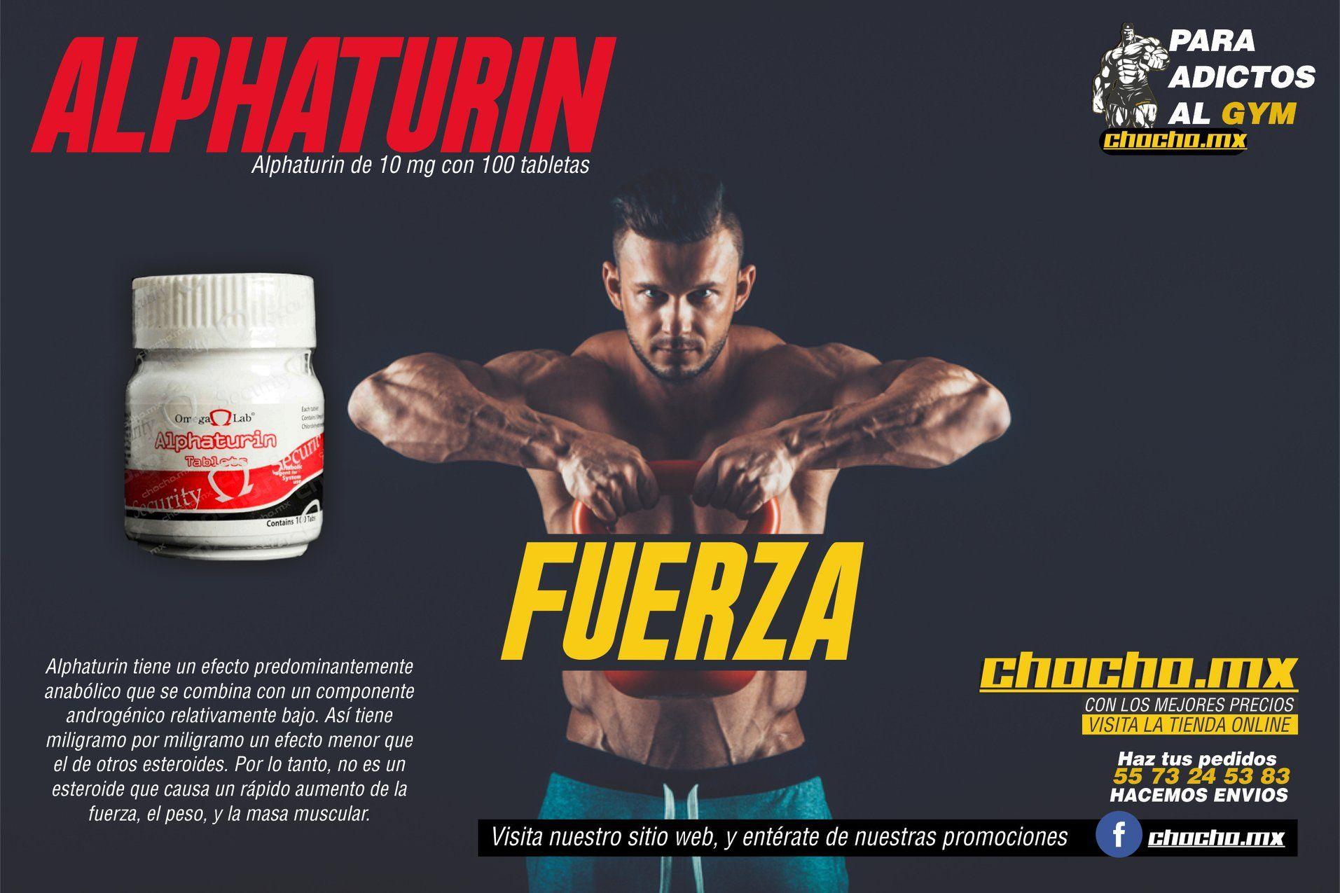 ALPHATURIN - Aumento del músculo sólido y buena ganancia de