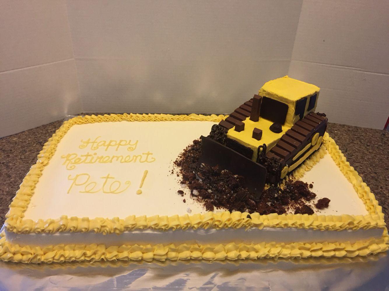 Bulldozer Cake Dads 60th Pinterest Bulldozer Cake Cake And Food