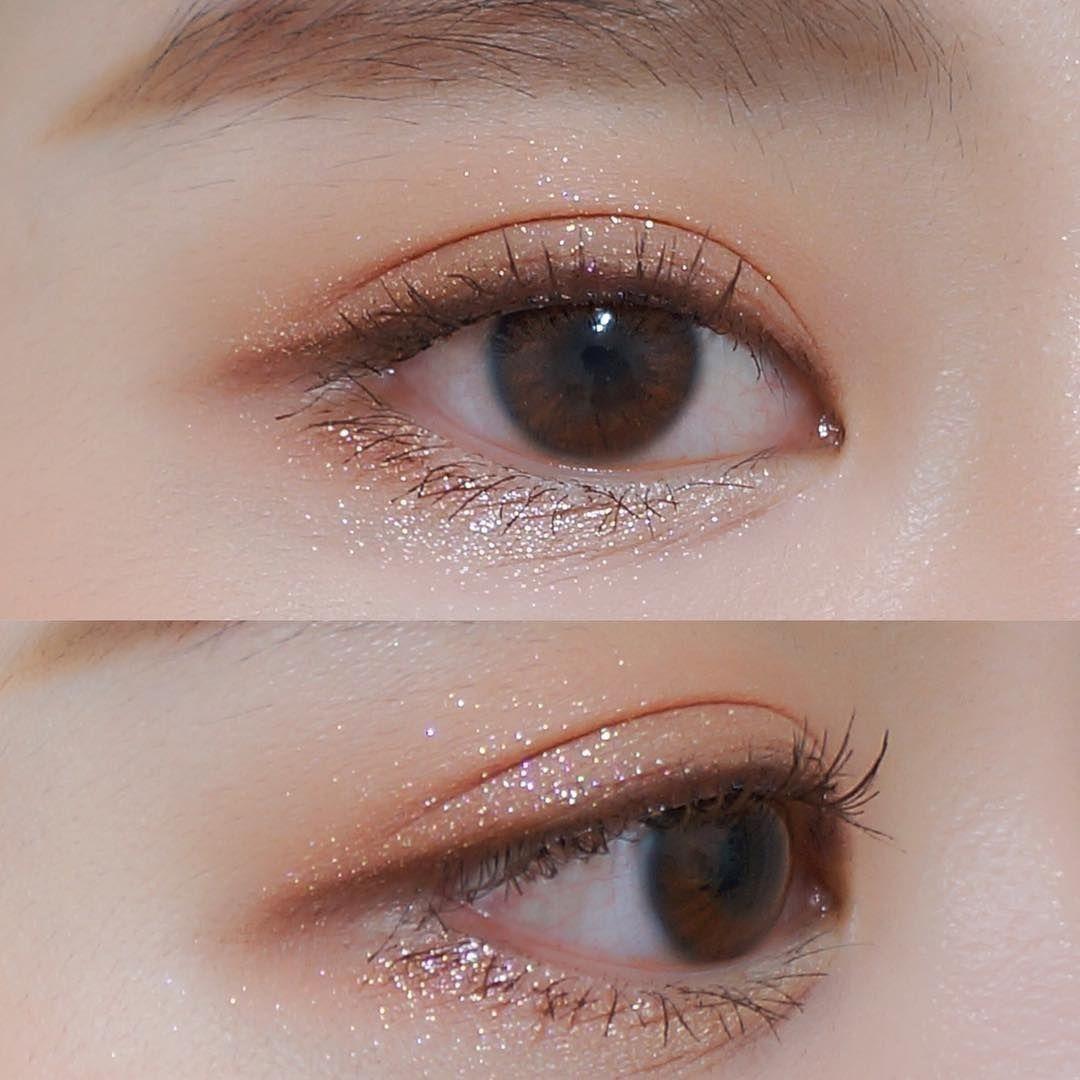 Korean eye makeup Koreaneyemakeup Asian beauty Korean