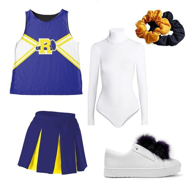 7 Easy Ways To Diy Your Riverdale Group Costume For Halloween In 2020 Kostume Damen Cheerleader Kostum Cheerleader Kostum Damen