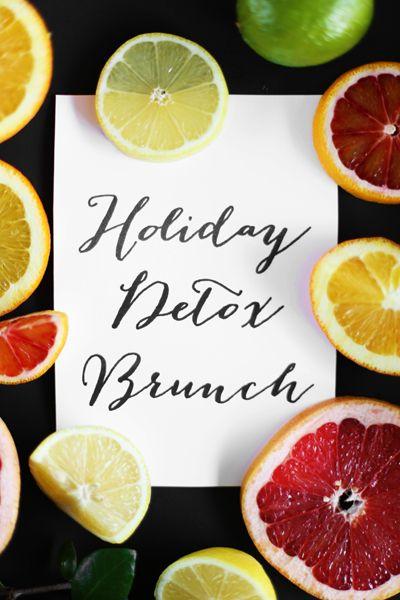 Holiday Detox Brunch Holiday Detox Brunch | @kristimurphydiy