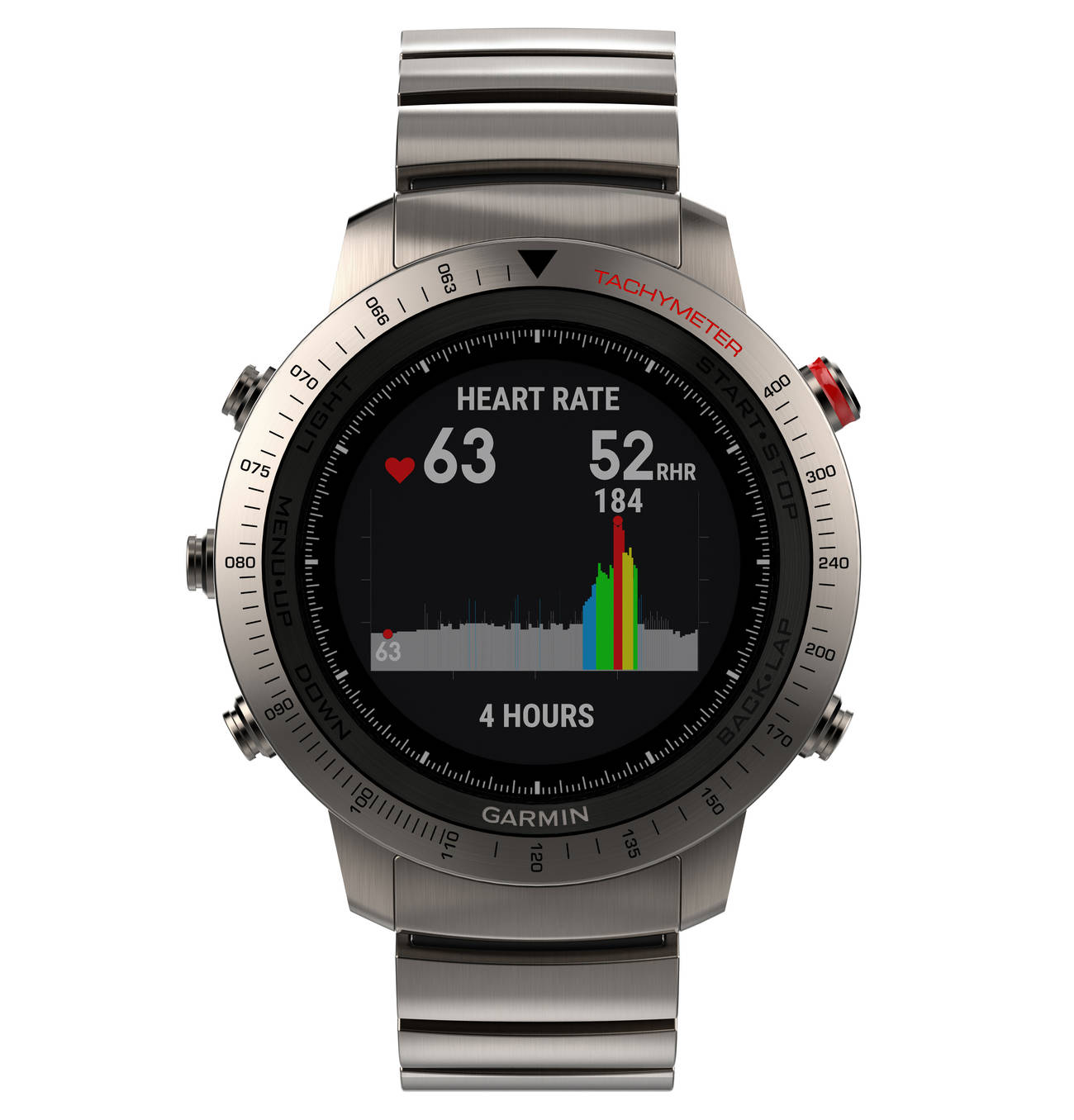 fēnix Chronos Smartwatch 0100195701, Titan Uhren