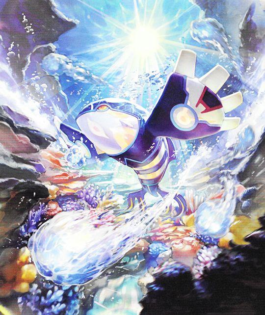 Kyogre Pokemon Pokemon Pokemon Fan Art Pokemon Special