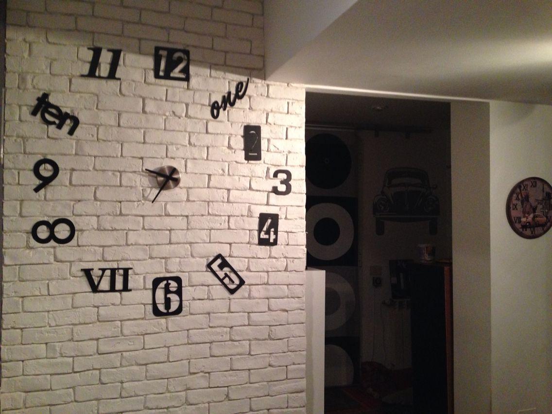 Parete Di Legno Cruciverba : Orologio da parete food&interiors inspiration pinterest