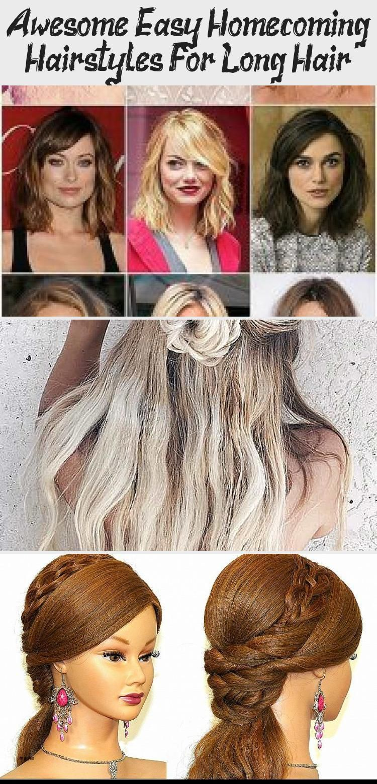 Awesome Easy Homecoming Hairstyles For Long Hair Hair Styles 1920slonghair Awesome Easy Homecoming Hairsty In 2020 Hair Styles Homecoming Hairstyles 1920s Long Hair