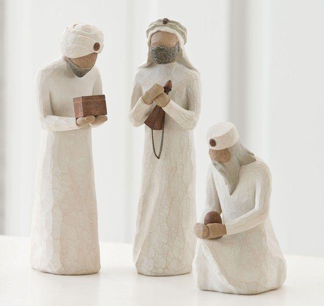 The Three Wise Men / Die Heiligen Drei Könige (Willow Tree)