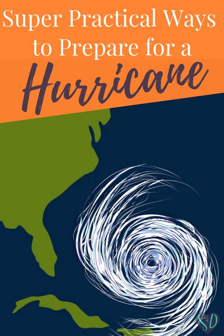 Super Practical Ways to Prepare for a Hurricane #hurricanefoodideas