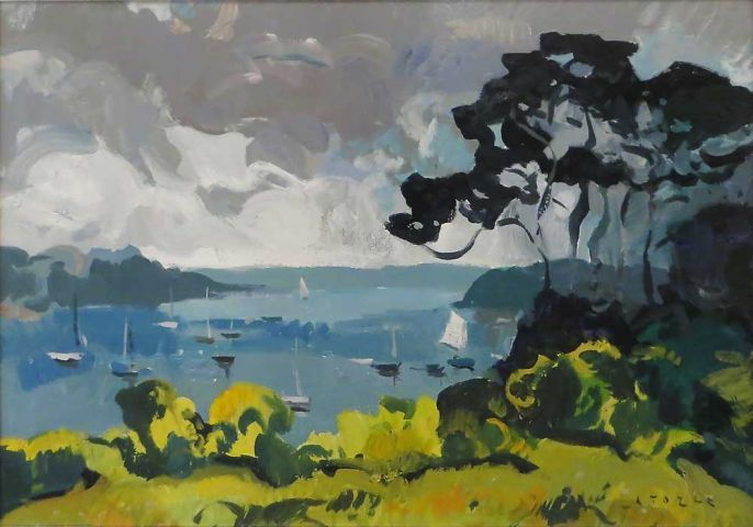 Andrew Tozer - View up the Helford River